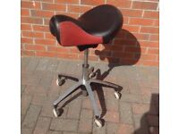 """Saddle"" salon stool , beautician/ hairdressers etc"