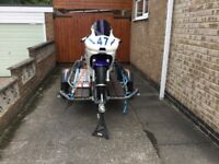 Track Bike Yamaha R6/600cc with Trailer