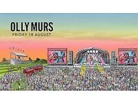 4 x Adult Tickets - Olly Murs at Newmarket 2017 - Premier Enclosure