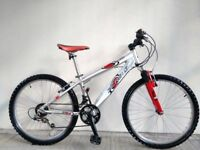 "FREE Lights with (2661) 24"" Aluminium RALEIGH BOYS GIRLS MOUNTAIN BIKE BICYCLE Age: 8-11, 130-145 cm"