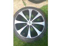 Alloy wheel size 205/40/zr17