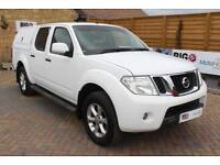 2014 NISSAN NAVARA DCI ACENTA 4X4 DOUBLE CAB WITH TRUCKMAN TOP PICK UP DIESEL