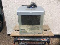 Boyu MH 400 marine aquarium fish tank set up