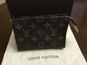 Authentic Louis Vuitton Toiletry Pouch 15