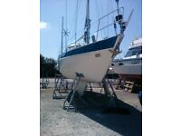 Malo 38 sailing yacht sail or live aboard in London - reduced for quick sale
