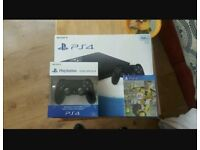 Ps4 for sale with FIFA and brand new pad