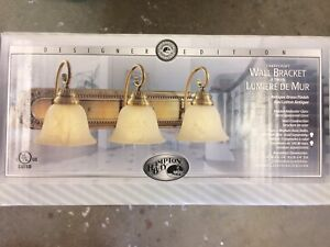 Light fixtures, brand new in box