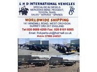 SHIPPINGWORLDWIDE RORO CONTAINERS SUP/LOADING STORAGE TRANSPORT REC/DEL CARS/VANS SELL FR£300 PLRING