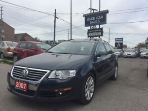 *4MOTION*CERTIFIED*2007 Volkswagen PASSAT 3.6 LUXURY Sedan