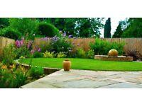 Garden , decking , digger work , grass cutting