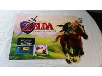 Legend Of Zelda Ocarina Of Time Original Store Display *Only one for sale!!!*