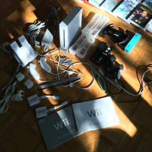 Wii + Rock Band Beatles limited ed. + Wii Fit + Carabine