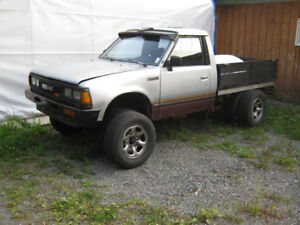 pick up Nissan 1984 4X4 bpn projet