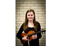 Violin and Viola Tutor in Central Birmingham