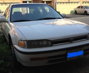 *1993 Honda Accord EX Sedan White*
