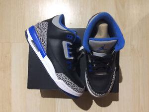 Air Jordan 3 Retro size 5.5y