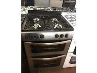60CM STAINLESS STEEL NEWWORLD DUEL FUEL GAS COOKER