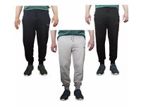 Job Lot Mens Joggers Active Wear 100% Brand New Black Grey and Navy Blue