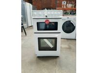 Brand New White 50cm Gas Cooker With Double Oven