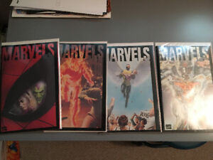 Marvels complete 4 issue set