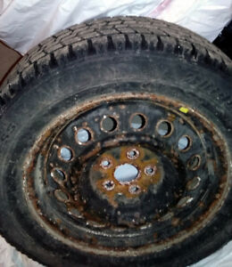 Cheap winter tires with Rims (Bridgestone Blizzak)