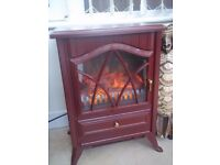 Heater electrical stove style heater -Ideal for conservatory or caravan as small