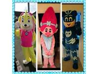 Poppy The Troll, PJ Mask Cat Boy, Skye from Paw Patrol and many more CHARACTER VISIT