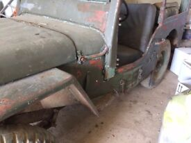 wanted classic car jeep mg triumph good one or a project