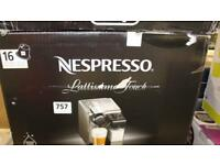 Nespresso Latissima Touch brand new in box. Box is damaged but other than that its perfect