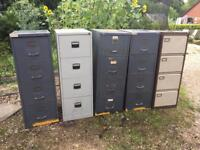 Various filing cabinets