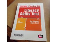Passing The Literacy Skills Test - QTS