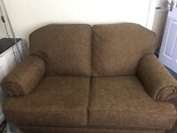 This sofa was only recovered last week Great genuine suite