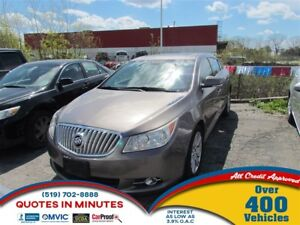 2011 Buick LaCrosse CXL | LEATHER | SUNROOF | MUST SEE
