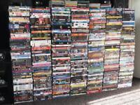 500-600 dvds games cds blurays joblot