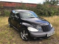 Chrysler Pt Cruiser Limited Edition Black Petrol 1996cc 140 BHP Long Mot with full service history.