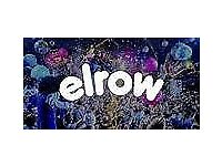 Elrow festival 19th and 20th tickets in hand for sale