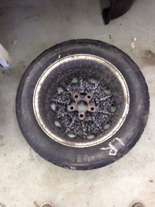 3 Toyota winter tires and rims