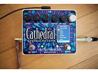 Electro Harmonix Cathedral Reverb - Guitar Effects Pedal
