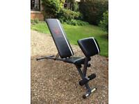 York Fitness Utility Bench with Preacher Curl (Delivery Available)