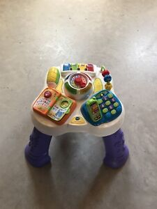 Infant/Toddler sit/stand table