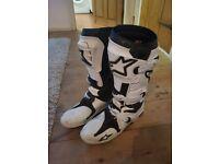 **Alpinestar Tech 10 Motocross Boots** Size 10