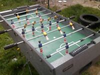 foosball table football in need of repair