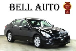 2013 Infiniti G37X SPORT PKG NAVIGATION LEATHER SUNROOF