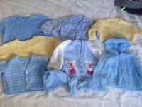 Hand knitted cardigans. Used and new.