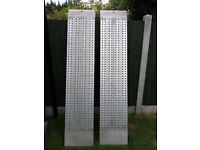 Two Kaiser+Kraft Aluminium Loading Ramps