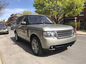 2010 Range Rover HSE with warranty