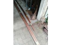 Central heating pipe 15mm*3m(5 lenghts £20)