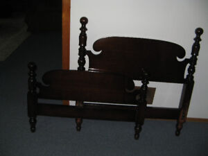 Heirloom furniture - we can't accommodate it at home anymore.