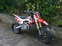 Welsh pit bike