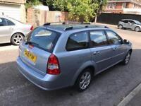 CHEVROLET LACETTI 1.8 SX 5dr Auto (blue) 2010